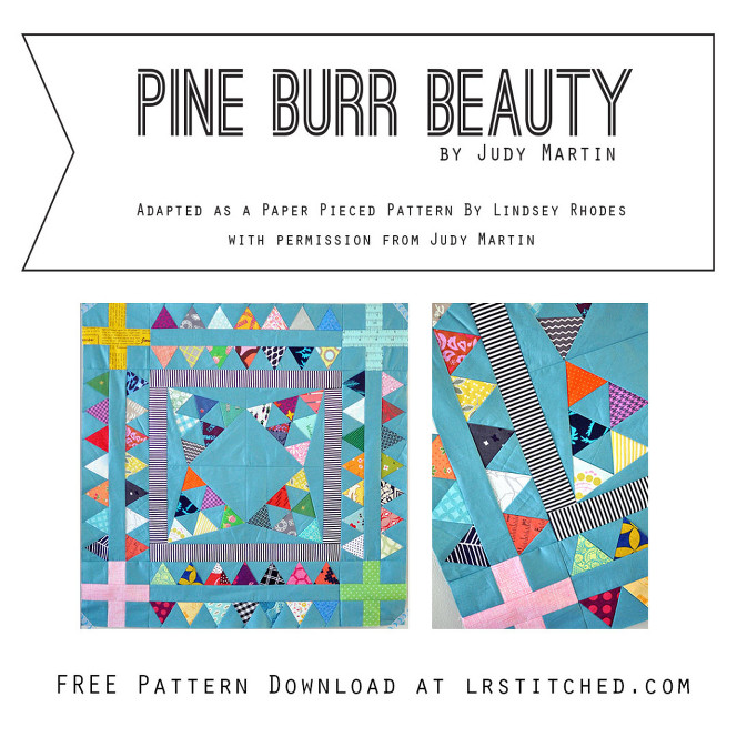 Pine Burr Beauty Free Pattern