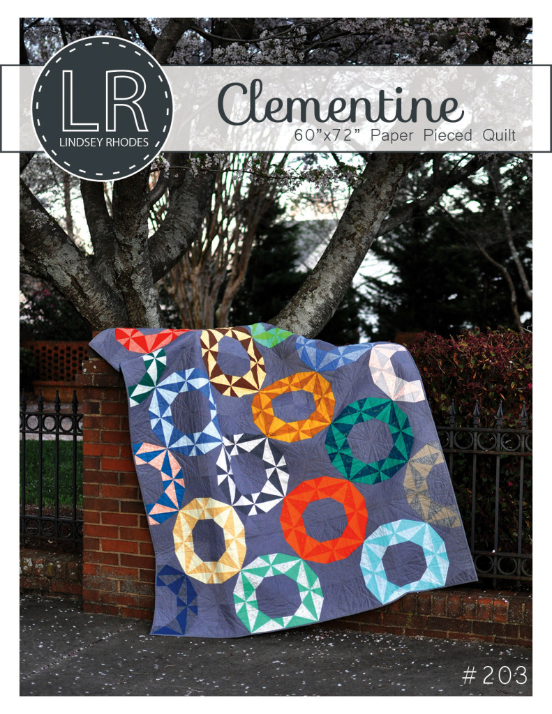Clementine Quilt Pattern by Lindsey Rhodes   LRstitched.com