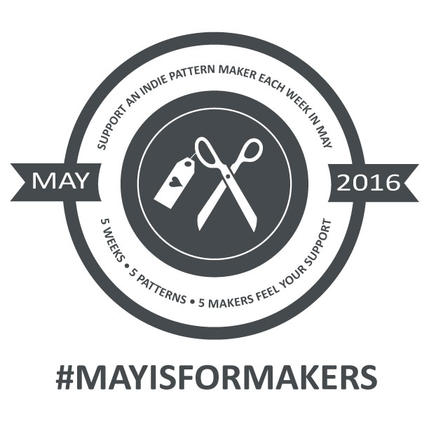 #MAYISFORMAKERS | LRstitched.com | Come join us!